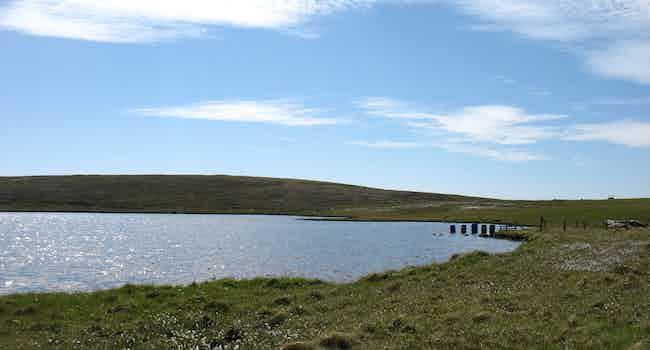 East loch of Skaw