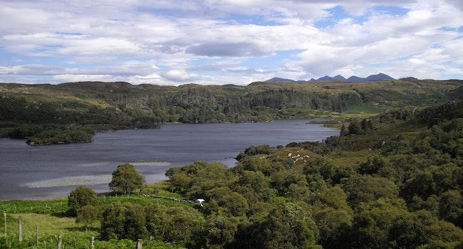 Loch Druim Suardalain  (The Glen Loch)