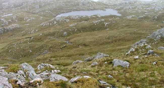 Un-named Loch Little Green