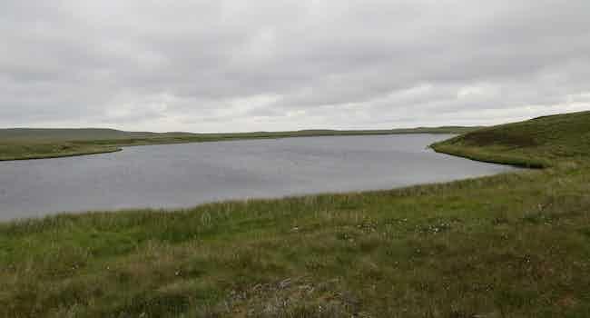 Loch na h-Eaglasie Mor (South end)