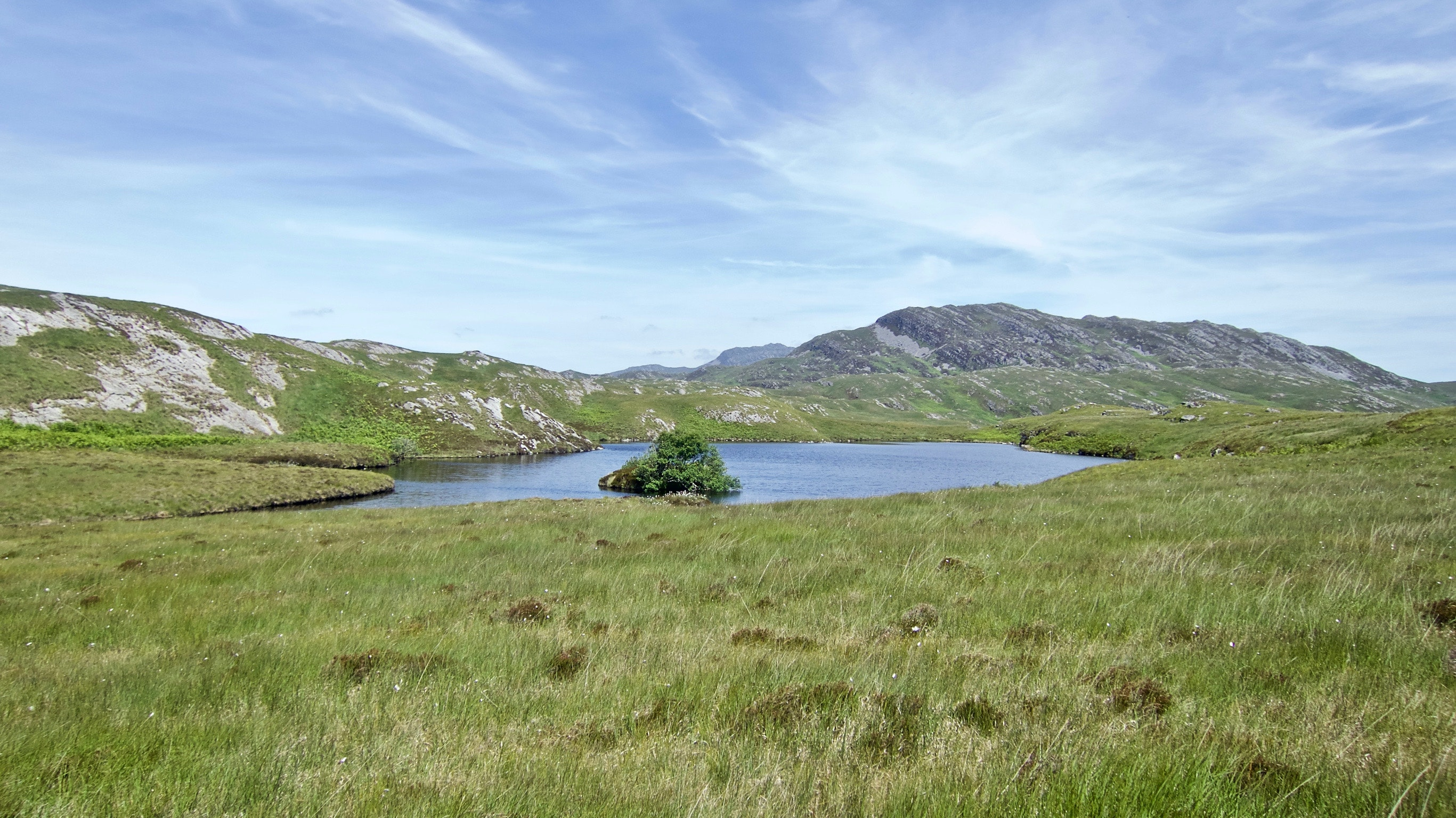 Lochan with small island
