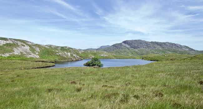 Lochan with small island